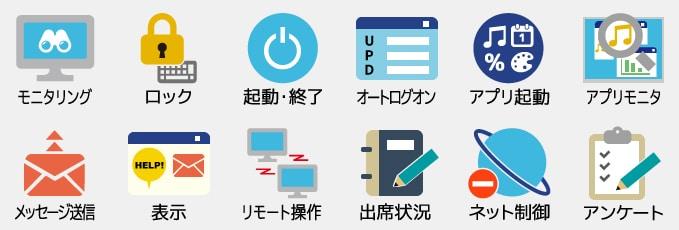 ICT活用支援機能イメージ画像